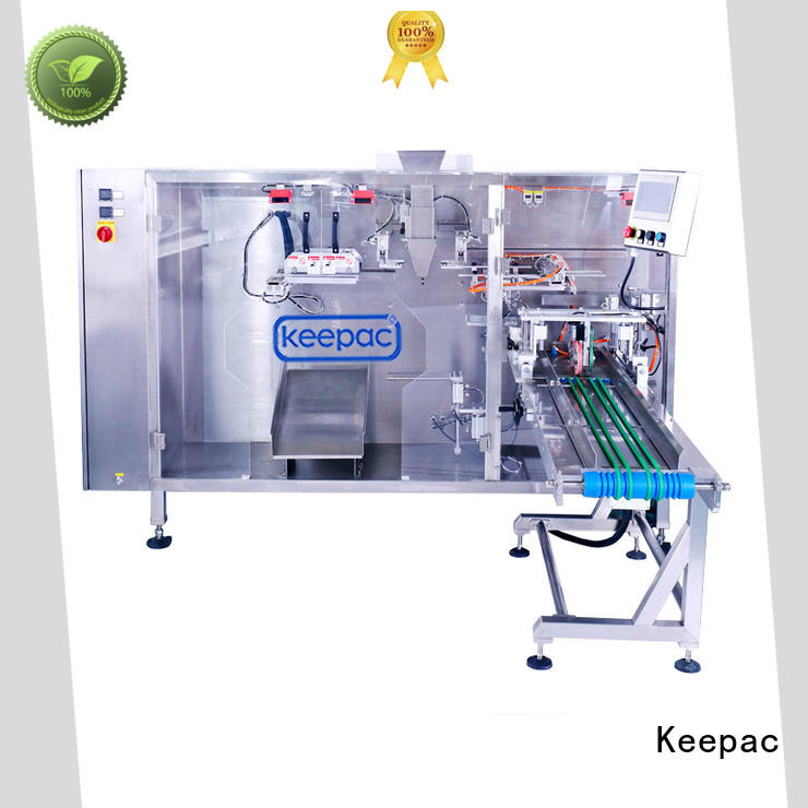 snacks packing machine quick release for standup bag Keepac