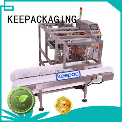 grain packing machine multi bag format for pre-openned zipper pouch Keepac