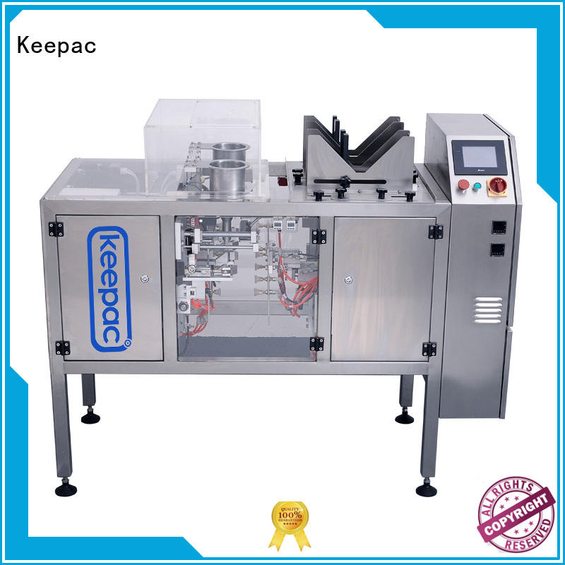 Keepac good price snack food packaging machine customized for beverage