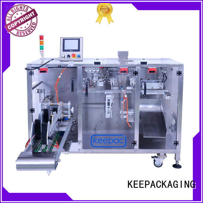 Keepac 8 inches seal packing machine design for zipper bag