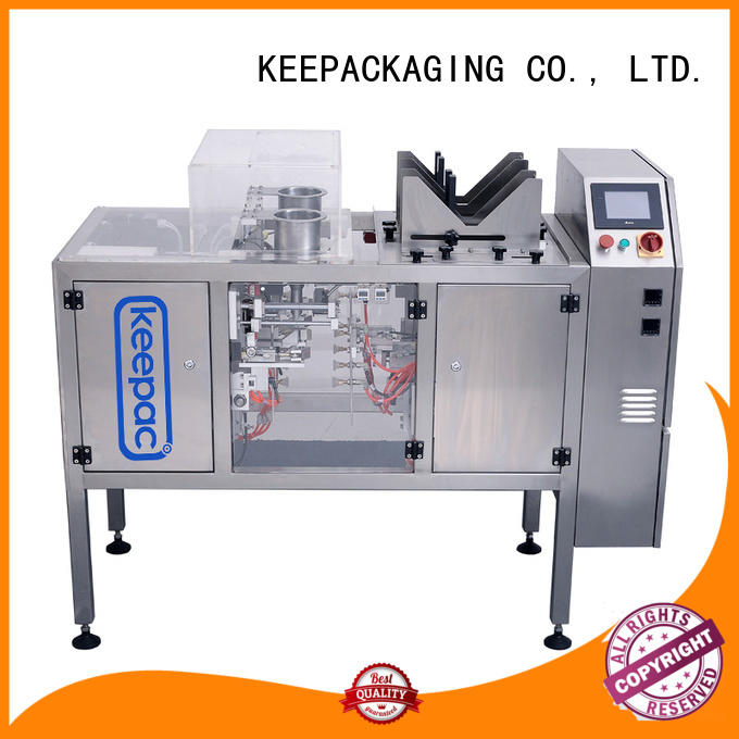 Keepac mini automatic grain packing machine factory direct for beverage