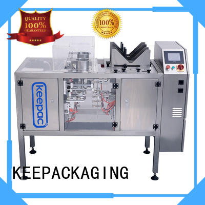 low cost snack food packaging machine factory direct for pre-openned zipper pouch
