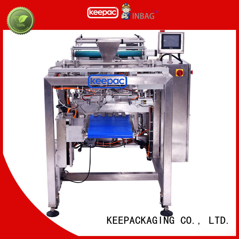 Keepac convenient auto packing machine manufacturing for zipper bag