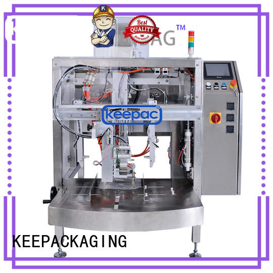Keepac automatic doypack machine manufacturing for beverage
