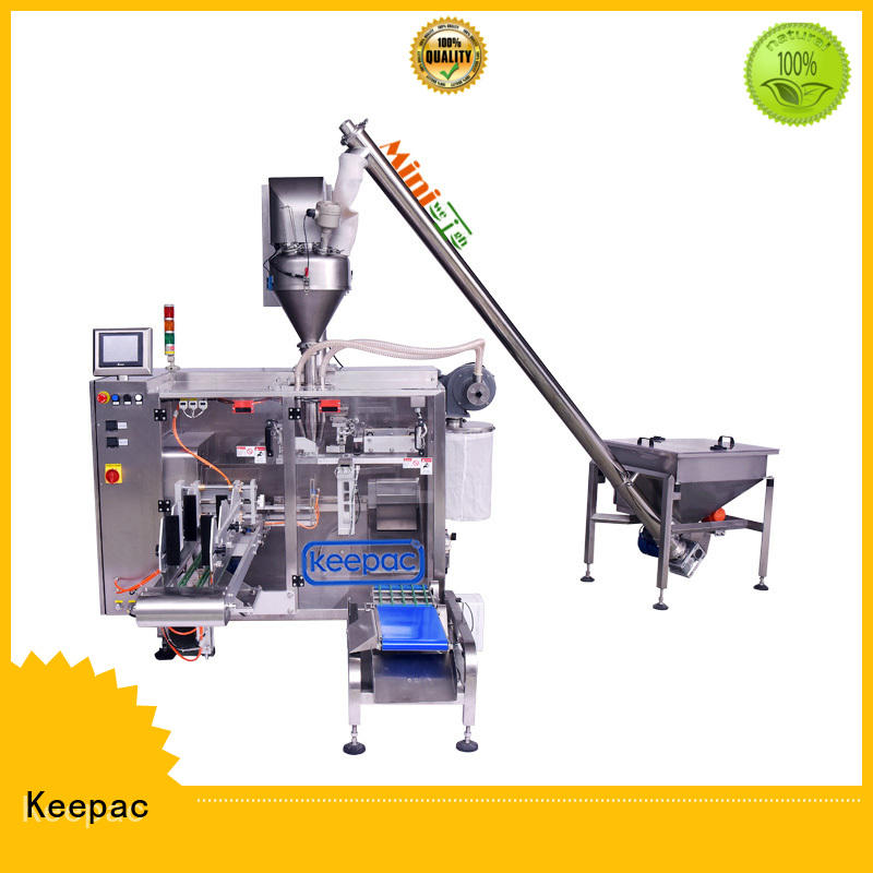 Keepac efficient chocolate packing machine linear for food