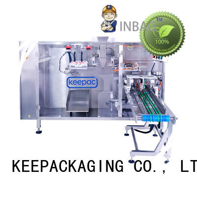 Keepac cost-effective automatic pouch packing machine supplier for 3 sides sealed pouch