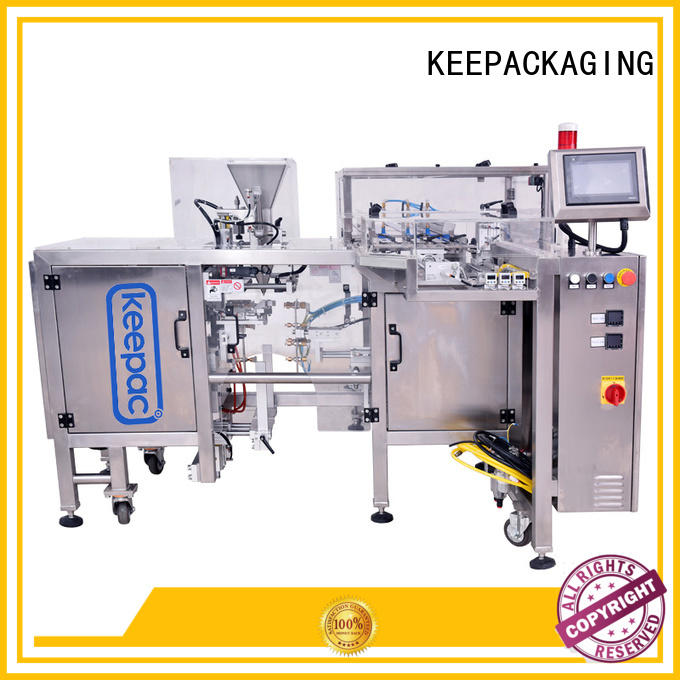 Keepac stainless steel 304 mini doypack machine wholesale for food