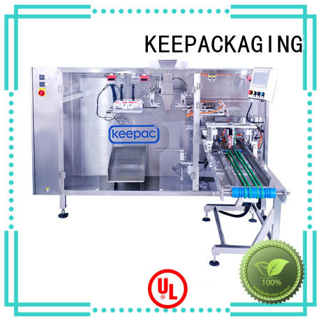 Wholesale automatic pouch packing machine straight flow design for business for standup bag