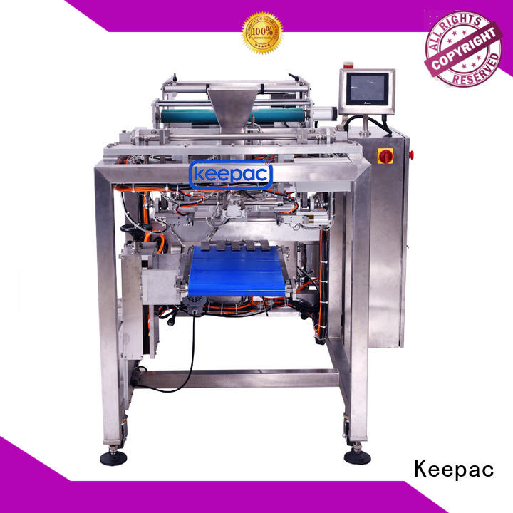 minitube chips packing machine straight flow design for zipper bag Keepac