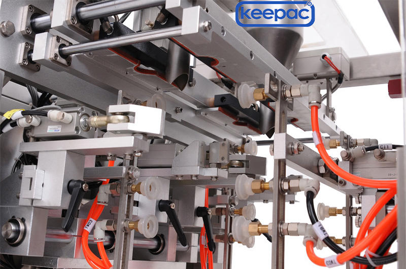 Keepac automatic doypack machine customized for pre-openned zipper pouch-3