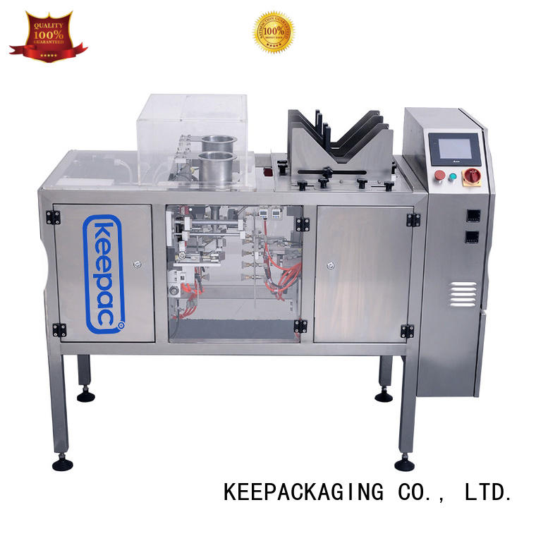 Keepac Latest food packaging machine factory for pre-openned zipper pouch