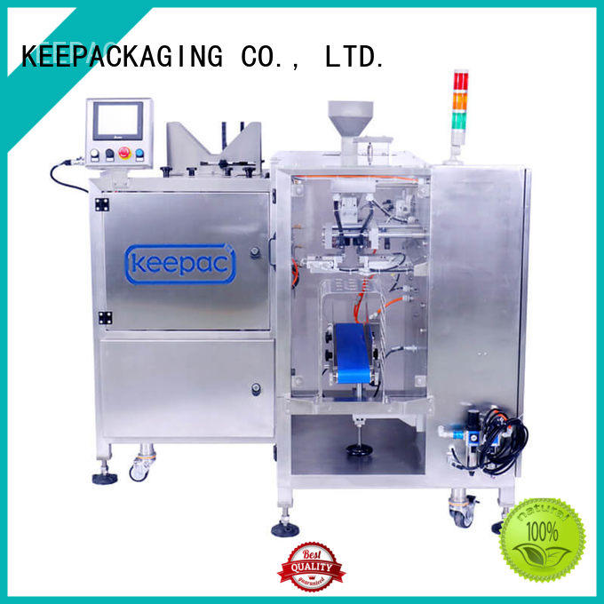 good price product packaging machine manufacturing for pre-openned zipper pouch