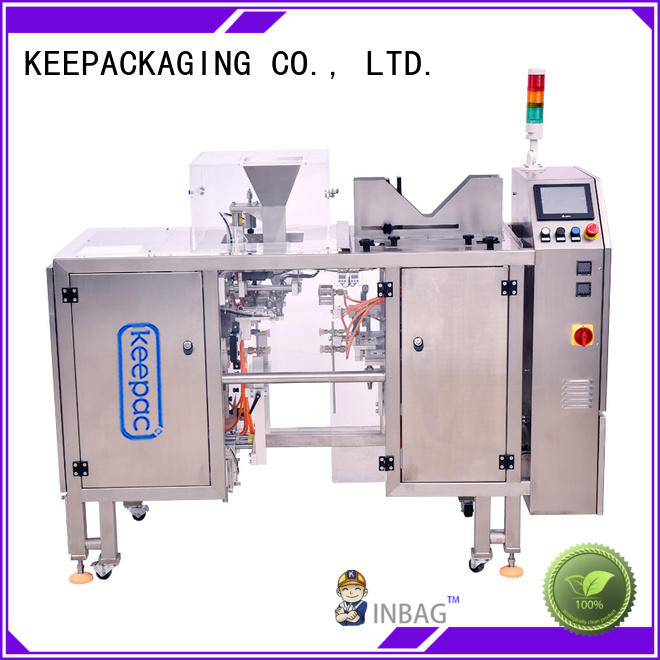 Keepac automatic snack food packaging machine customized for beverage
