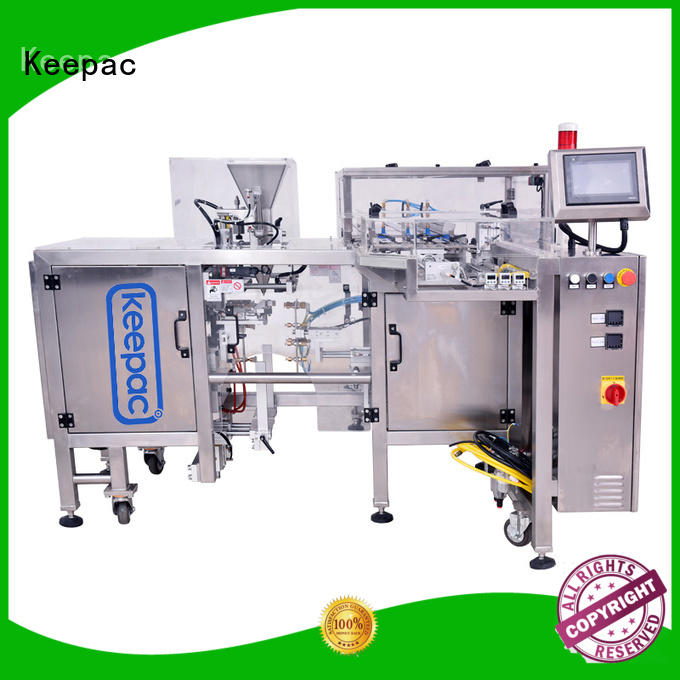 quick release candy packaging machine different sized for beverage Keepac