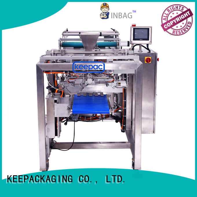Keepac convenient rice packing machine factory direct for zipper bag