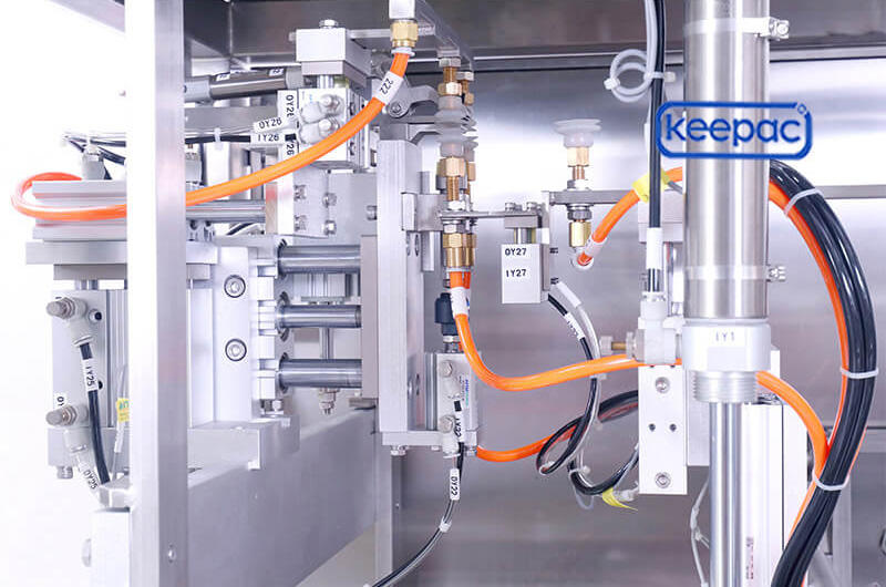 Keepac cost-effective chips packaging machine wholesale for pre-openned zipper pouch