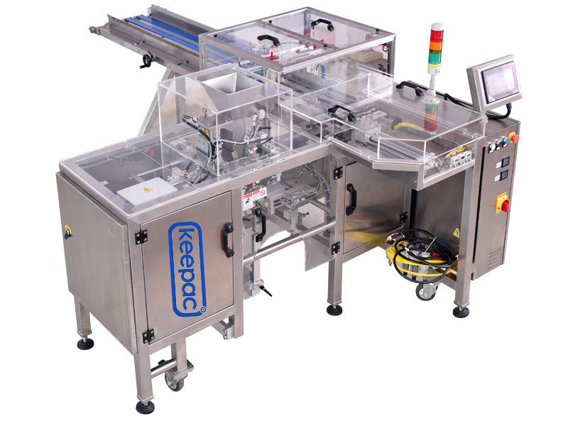 Keepac multi bag format small food packaging machine manufacturers for food-1