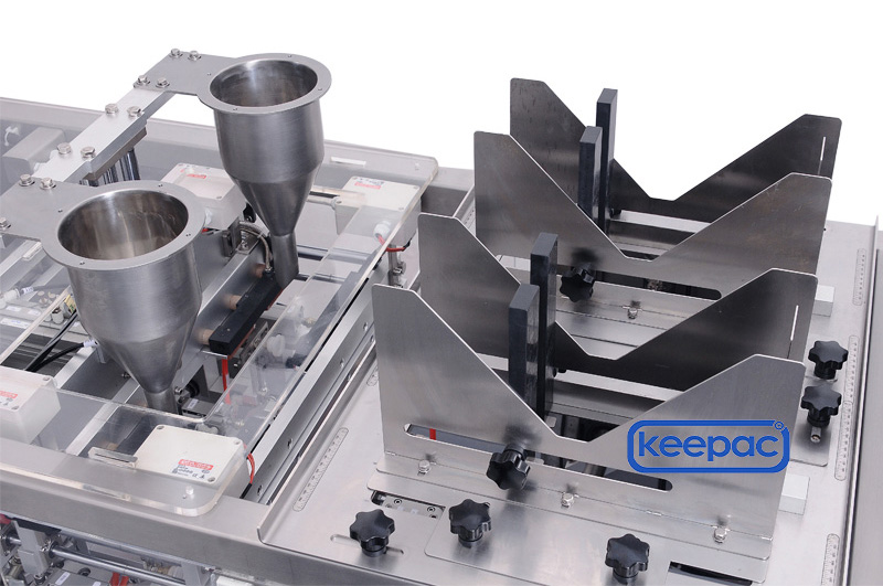 Keepac Custom small food packaging machine for business for pre-openned zipper pouch-1
