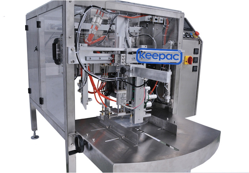 Latest chips packaging machine different sized Supply for pre-openned zipper pouch-2