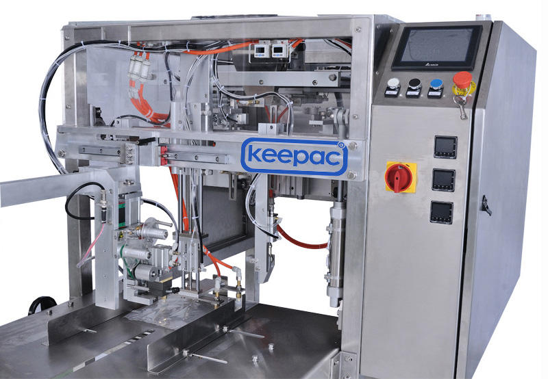 Keepac stainless steel 304 grain packing machine manufacturers for pre-openned zipper pouch