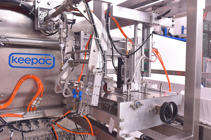 Keepac stainless steel 304 automatic grain packing machine for business for beverage-3