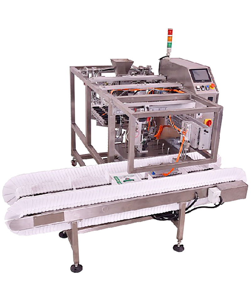 Keepac different sized snack food packaging machine manufacturing for pre-openned zipper pouch-7