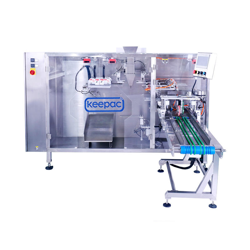 Straight flow design Vario Doypack Machine