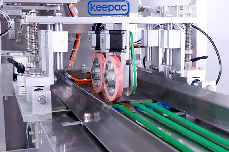 Keepac easy to clean plastic pouch packing machine manufacturers for standup bag-1