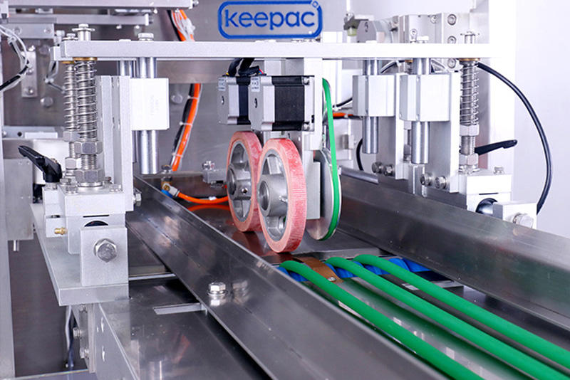 Keepac 8 inches stand pouch packing machine manufacturer for standup bag