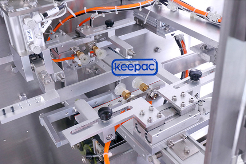 Keepac easy to clean plastic pouch packing machine manufacturers for standup bag-2