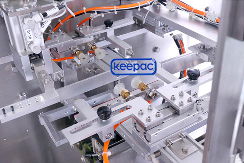 Keepac cost-effective snacks packing machine easy to clean for zipper bag
