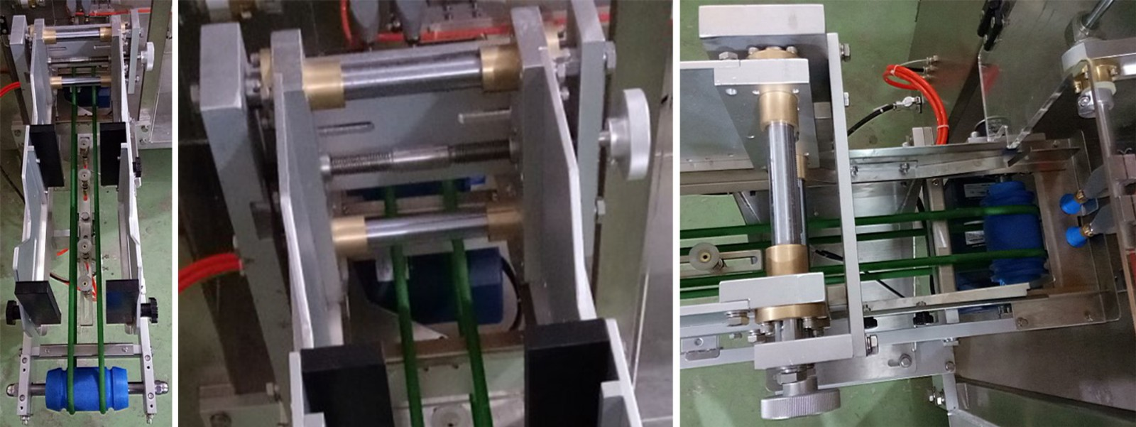 powder packing machine duplex for zipper bag Keepac-10