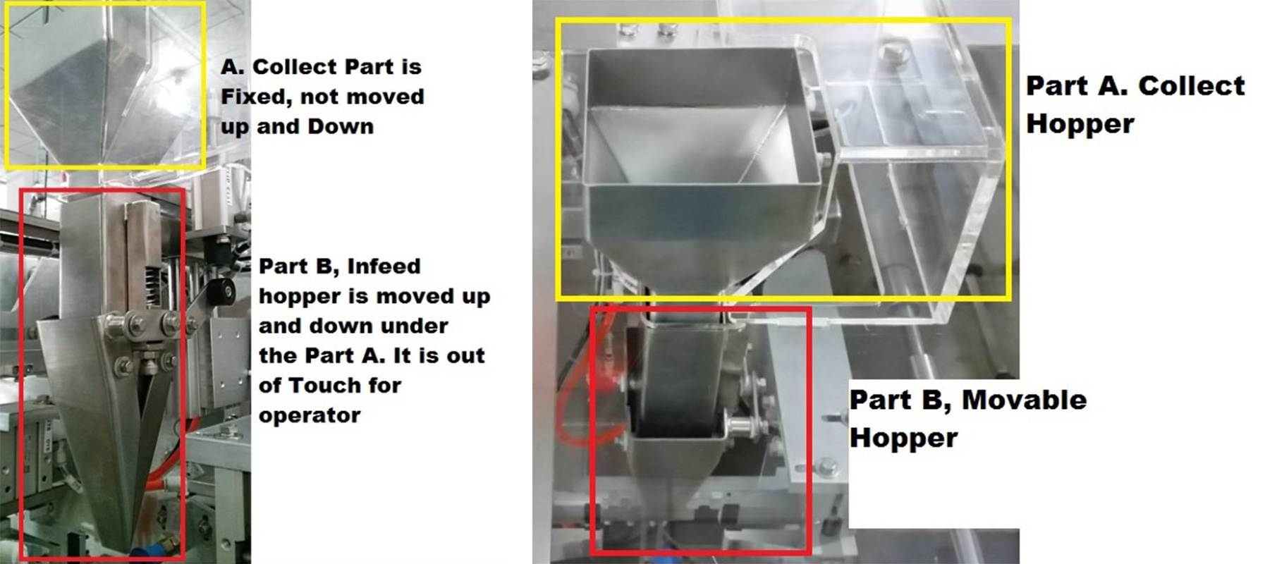 Keepac duplex horizontal form fill seal machine design for zipper bag-8