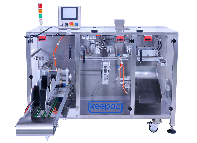 Keepac staight flow design milk powder packing machine Suppliers for zipper bag-1