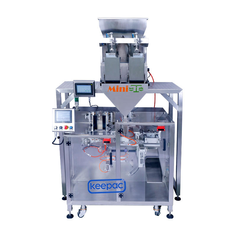Servo Mini Linear + Miniweigh Duplex 2H3L packing machine