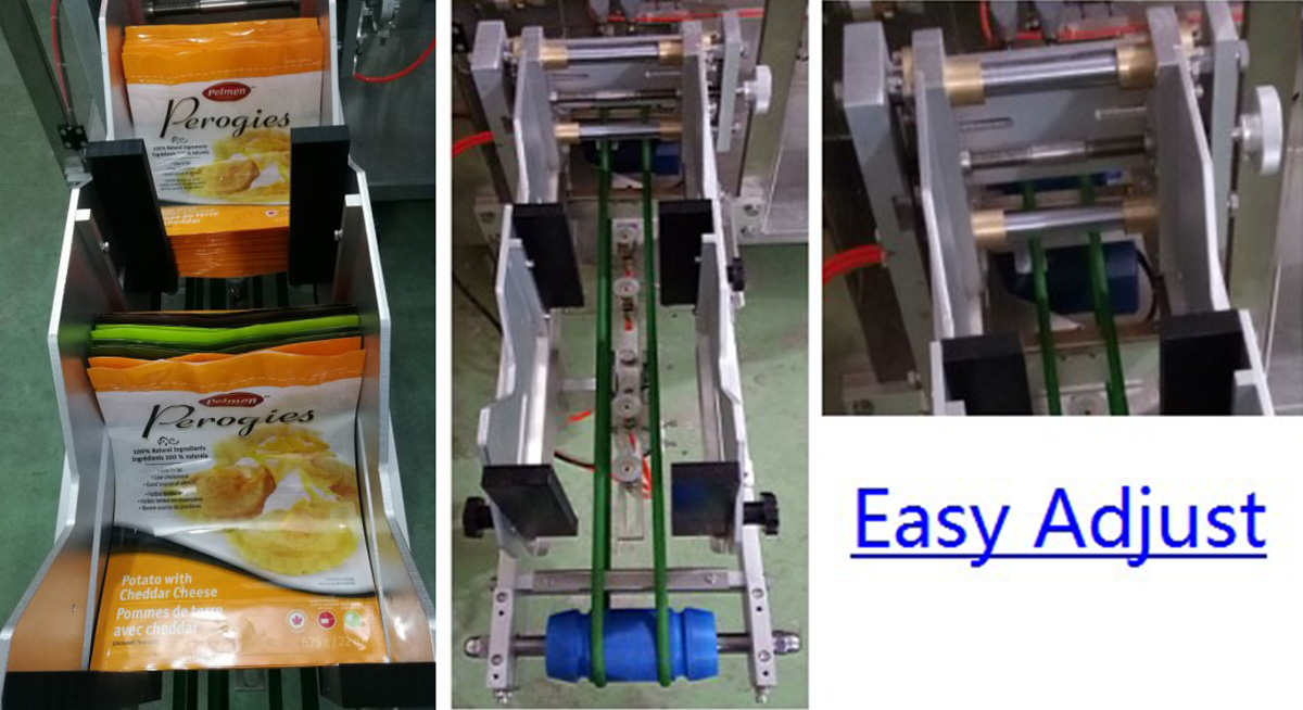 staight flow design powder packing machine manufacturer for zipper bag Keepac-13