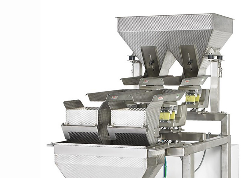 Latest automatic powder packing machine staight flow design manufacturers for food-21