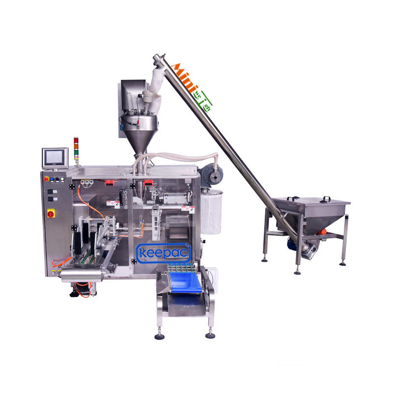 Servo Mini Model + KAF350 Auger Filler for packaging