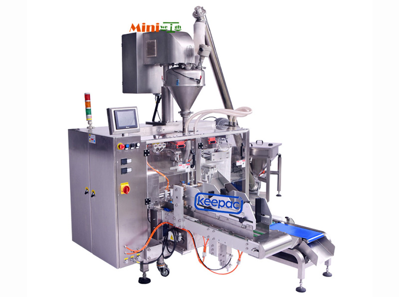 Custom automatic powder packing machine duplex company for zipper bag-3