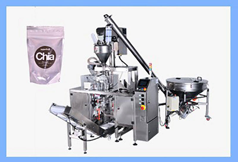 Keepac Auger Filler + Mini Doypack Machine