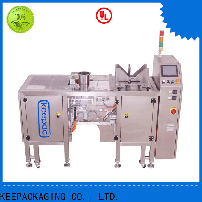 Keepac New grain packing machine Suppliers for pre-openned zipper pouch