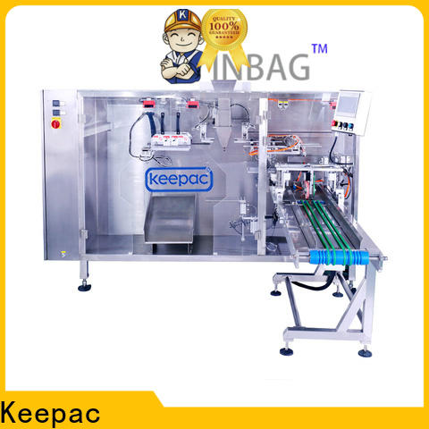 Top stand pouch packing machine straight flow design manufacturers for zipper bag