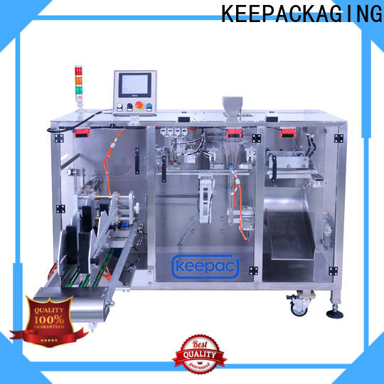 Keepac staight flow design powder pouch packing machine Suppliers for standup pouch