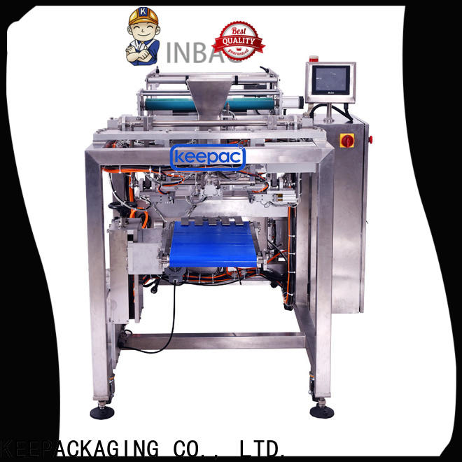 Keepac Custom food packaging sealing machine for business for standup pouch
