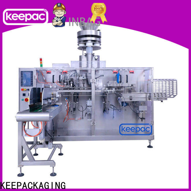 Keepac easy adjustable packaging machine design Supply for beverage