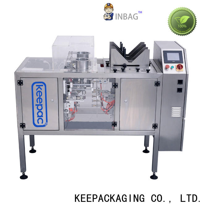 Keepac Wholesale automatic grain packing machine manufacturers for pre-openned zipper pouch