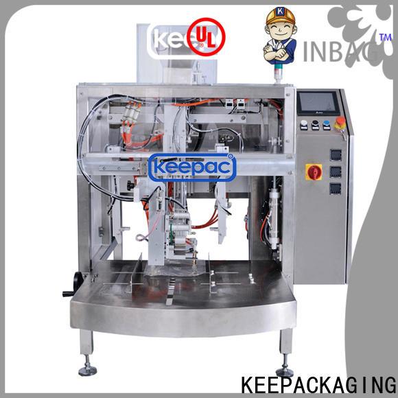 Keepac stainless steel 304 snack food packaging machine Supply for food