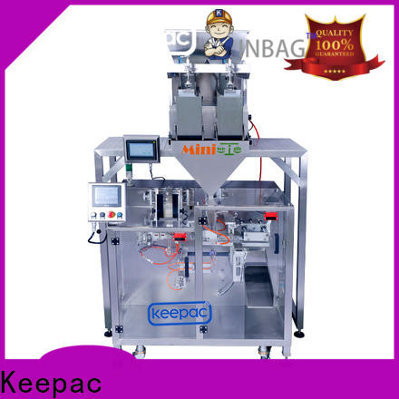 High-quality horizontal form fill seal machine 8 inches manufacturers for standup pouch