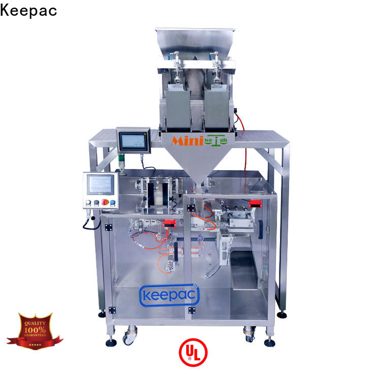 Keepac staight flow design powder packing machine Suppliers for standup pouch