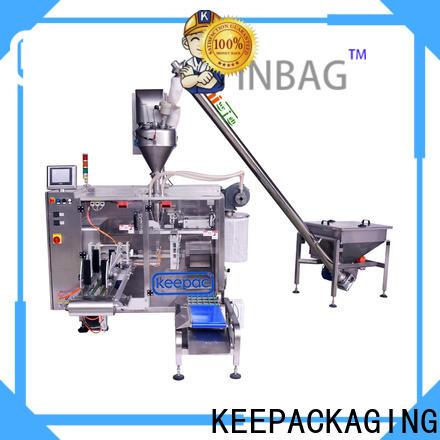 Custom automatic powder packing machine duplex company for zipper bag